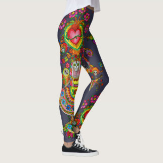 Tree of Dead Tattoo Design Leggings