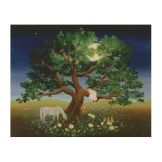 Tree of Dreams 1994 Wood Print