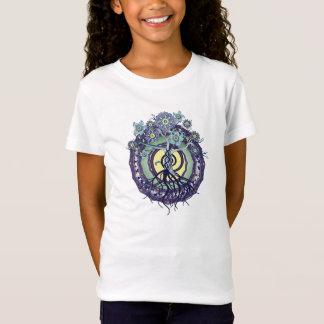 Tree of Enlightenment Mandala Girls T Shirt