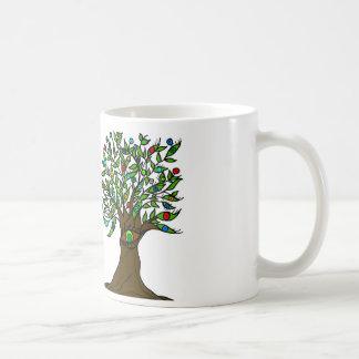 Tree of Eyes Coffee cup Basic White Mug