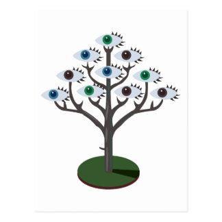 Tree of Eyes Postcard