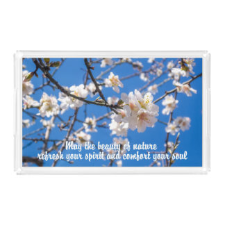 Tree of Flowers inspirational trays