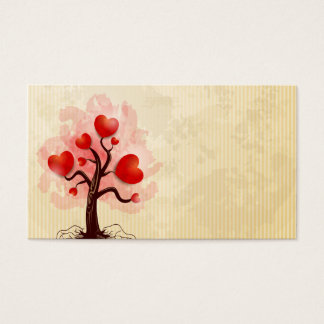 Tree of Hearts Business Card