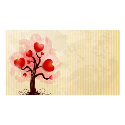 Tree of Hearts Business Cards