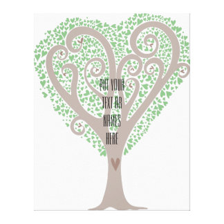 Tree of Hearts Canvas Prints