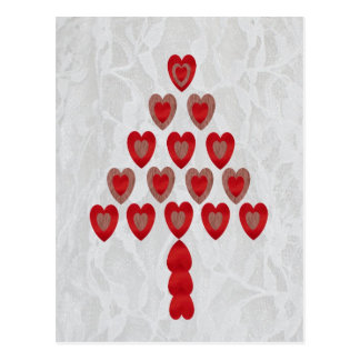 Tree of Hearts Postcard