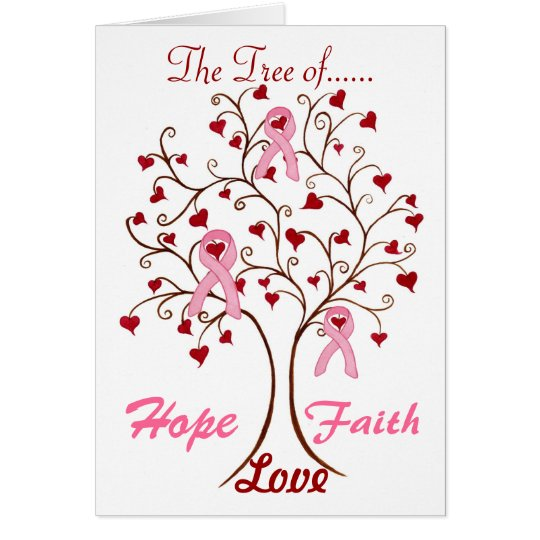 Tree of Hope, Love & Faith - Card