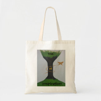 Tree of Inspiration Tote Budget Tote Bag