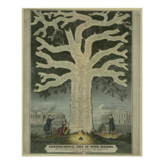 Tree of Irish History Poster