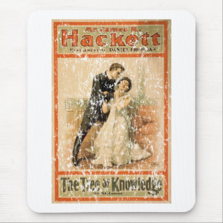Tree of Knowledge 1898- distressed Mouse Pad
