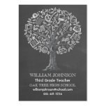 Tree of Knowledge Teacher Business Card