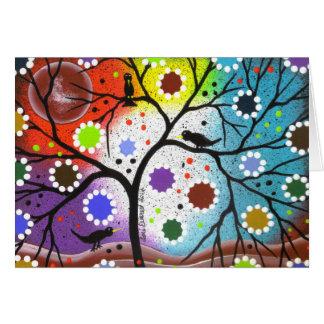 tree of life #22 By Lori Everett Card