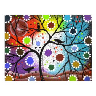 tree of life #22 By Lori Everett Postcard