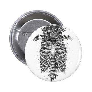 Tree of life 6 cm round badge