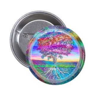 Tree of Life 6 Cm Round Badge