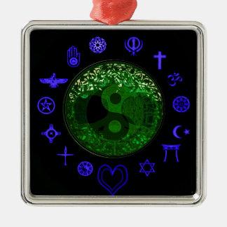 Tree of Life and Unity Christmas Ornament