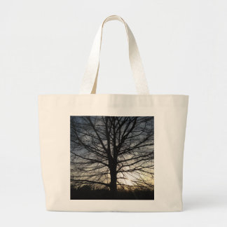 Tree of Life at Sunset Jumbo Tote Bag