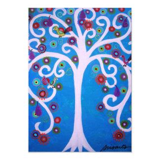 TREE OF LIFE BAR/BAT MITZVAH CARD