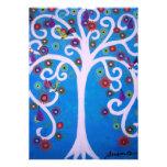 TREE OF LIFE BAR/BAT MITZVAH PERSONALIZED INVITE