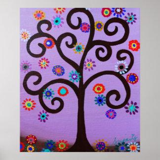 TREE OF LIFE BAR BAT MITZVAH POSTER
