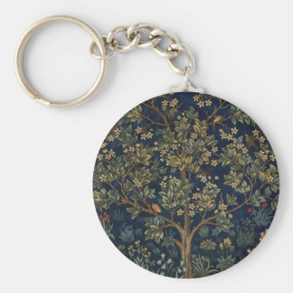 Tree Of Life Basic Round Button Key Ring