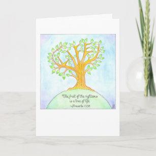 Tree of Life Bat/Bar Mitzvah Card