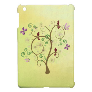 Tree of Life Birds Butterfly Beautiful Case For The iPad Mini