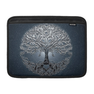 Tree of Life Blue Sky Peaceful Night MacBook Sleeve