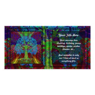 Tree of Life Boundless Enthusiasm Picture Card