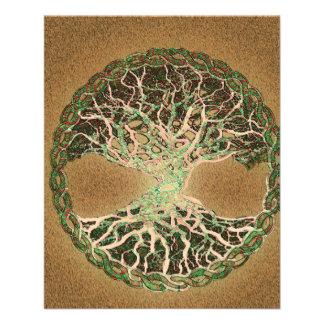 Tree of Life Brown 11.5 Cm X 14 Cm Flyer