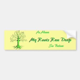 Tree of Life Bumper Sticker