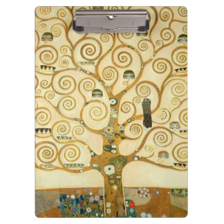 Tree of Life by Gustav Klimt Clipboard