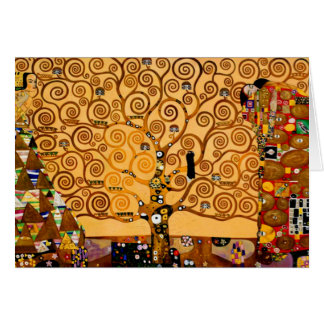 Tree of Life by Gustav Klimt Fine Art Greeting Card