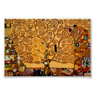 Tree of Life by Gustav Klimt Fine Art Poster