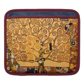 Tree of Life by Gustav Klimt Fine Art Sleeves For iPads