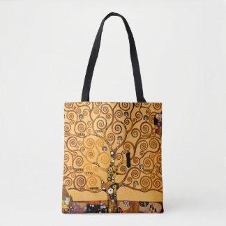 Tree of Life by Gustav Klimt Fine Art Tote Bag