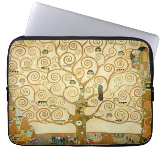Tree of Life by Gustav Klimt Laptop Sleeve