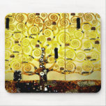 Tree of life by Gustav Klimt  Mousepad version 2