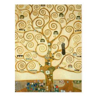 Tree of Life by Gustav Klimt Postcard