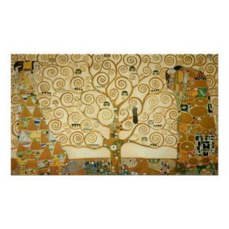 Tree of Life by Gustav Klimt Poster