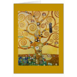 Tree of Life by Klimt Greeting Card