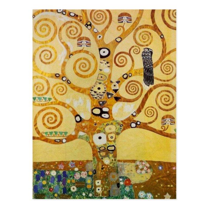 Tree of Life by Klimt Postcard
