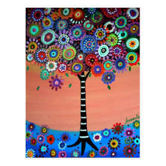 Tree of Life by Prisarts Postcard