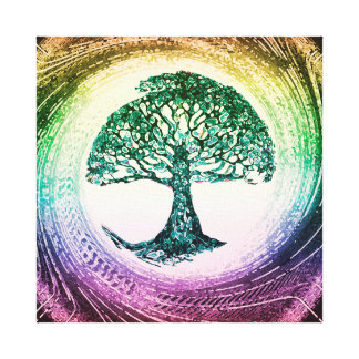 Tree of Life Calmness Within Canvas Print