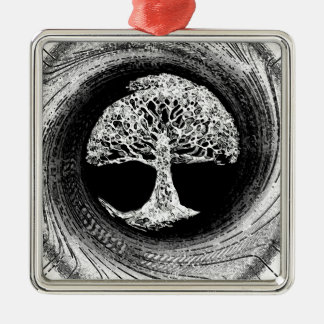 Tree of Life Calmness Within Christmas Ornament