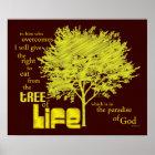 Tree of Life Christian Scripture canvas print