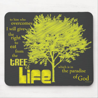 Tree of Life Christian Scripture mousepad/mousemat Mouse Mat