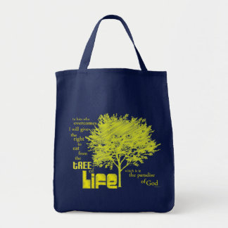 Tree of Life Christian Scripture tote bag