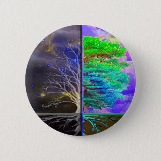 Tree of Life Connection 6 Cm Round Badge