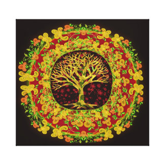 Tree of Life Constant Change Canvas Print